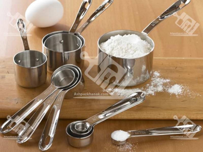 آشپزخانک-اندازه گیری در آشپزی