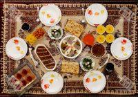 ماه رمضان؛ آش، حلیم، زولبیا و بامیه