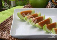 دسر سیب با کارامل