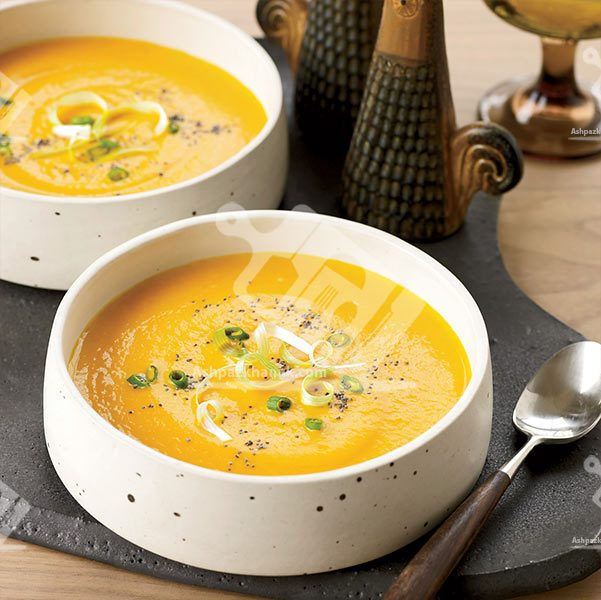 سوپ هویج خامه ای