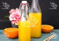 شربت پرتقال خانگی