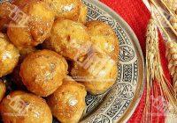 شیرینی ترکیه ای Irmik lokmasi