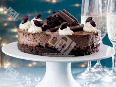 موس کیک شکلاتی