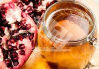 چای انار و لیمو