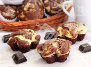 آشپزی با آشپزخانک-مافین شکلات و پنیر خامه ای