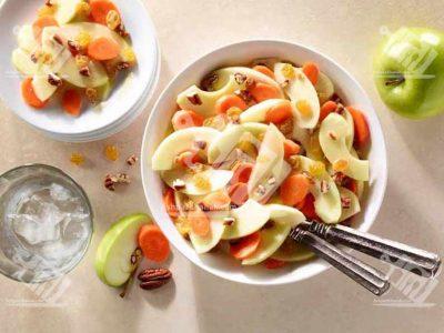 سالاد سیب و هویج