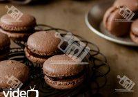 ماکارون شکلاتی فرانسوی