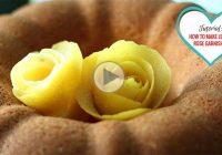 چگونه با پوست لیمو گُل درست کنیم؟