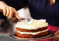 چگونه کیک را با کرم های متنوع کاور کنیم؟
