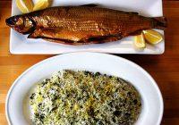خواص سبزی پلو و ماهی !