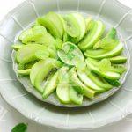سالاد میوه های سبز