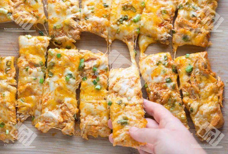 پیتزا با سس بوفالو