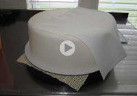 چگونه سطح کیک را پس از کاور، صاف کنیم؟