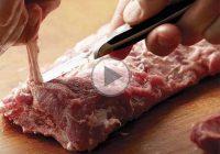 چگونه چربی روی گوشت را جدا کنیم؟