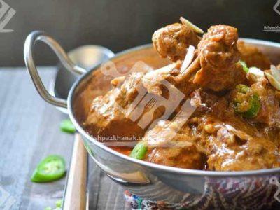 مرغ با مغز بادام (هندی)