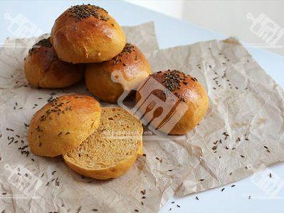 نان کدو حلوایی با زیره