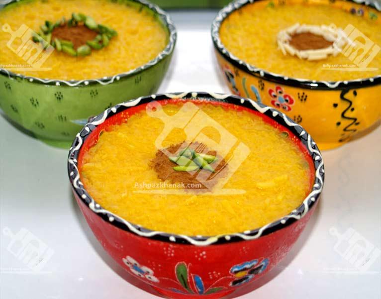 نمونه هایی از تزیین شله زرد-طرز تهیه شله زرد -ماه رمضان11-آشپزخانک