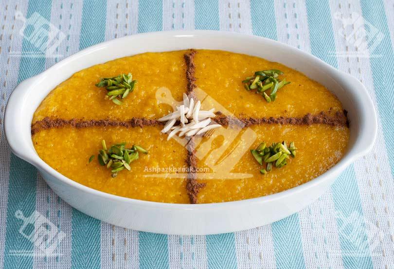 نمونه هایی از تزیین شله زرد-طرز تهیه شله زرد -ماه رمضان8-آشپزخانک