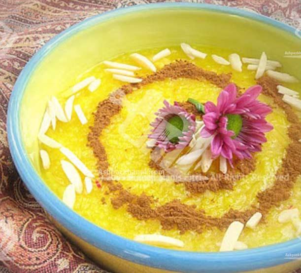 نمونه هایی از تزیین شله زرد-طرز تهیه شله زرد -ماه رمضان9-آشپزخانک