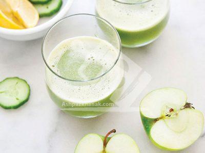 نوشیدنی سیب، خیار و لیموترش