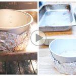 چگونه قالب را برای تهیه چیزکیک آماده کنیم؟ روش حمام آب