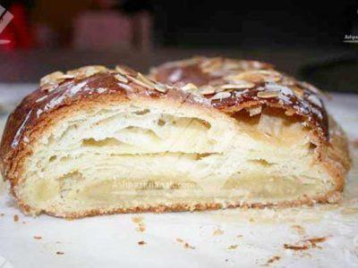 کرم داخل شیرینی دانمارکی