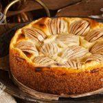 کیک سیب کرمی