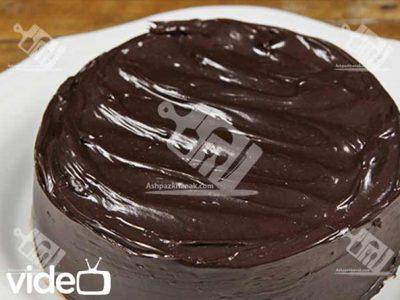 کیک شکلاتی بدون فر