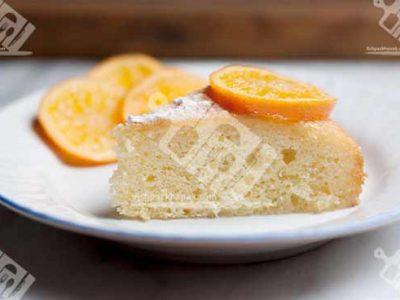 کیک پرتقالی