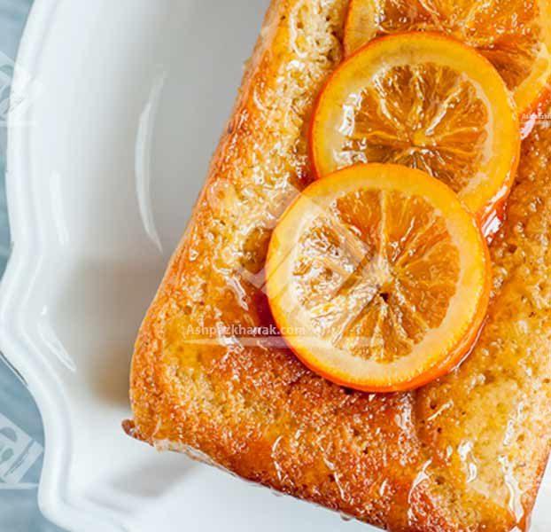 کیک پرتقال و بادام