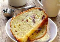 کیک کشمش و بادام