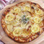 پیتزا لیمو و سیب زمینی