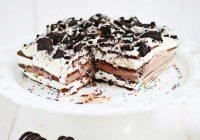کیک بستنی آسان