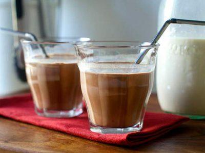 شیر فندق شکلاتی
