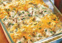 انچیلادای مرغ و پنیر