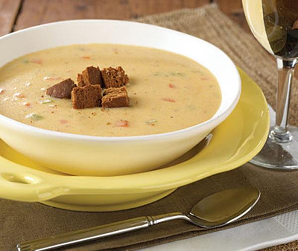 سوپ پنیر کانادایی