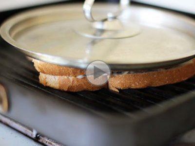 چگونه بدون ساندویچ میکر ساندویچ درست کنیم؟