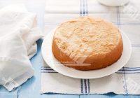 کیک اسفنجی ایتالیایی با آرد برنج (فاقد گلوتن)