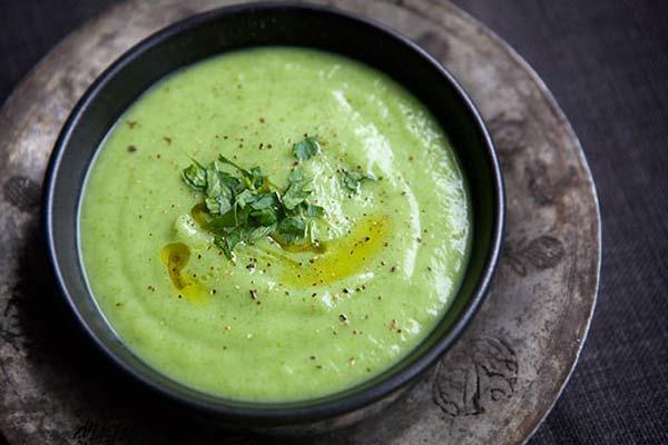 سوپ زردک و جعفری