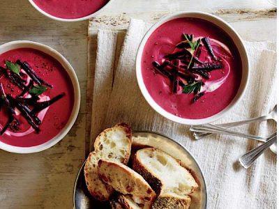 سوپ لبو زنجبیلی