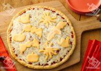 پیتزا پنیری هالووین
