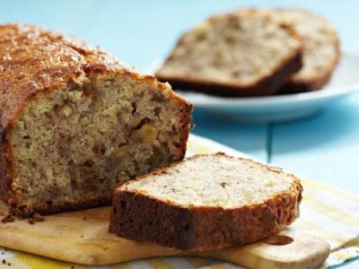 نان موز و گردو