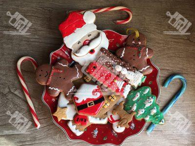 نان زنجبیلی کریسمس (Gingerbread)