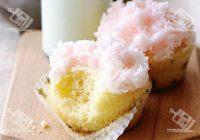 کاپ کیک نارگیلی با رویه مخصوص