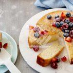 کیک نارگیلی آسان
