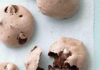 مرنگ موکا و شکلات