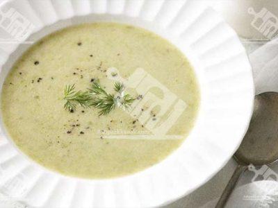 سوپ مارچوبه بهاری