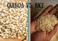 مقایسه کینوآ با برنج