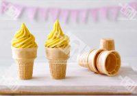 بستنی موز و انبه