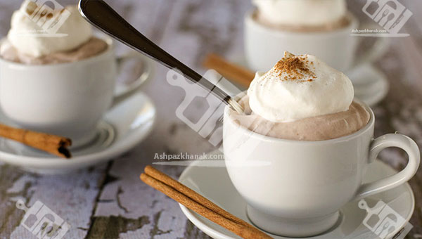 موس شکلاتی داغ